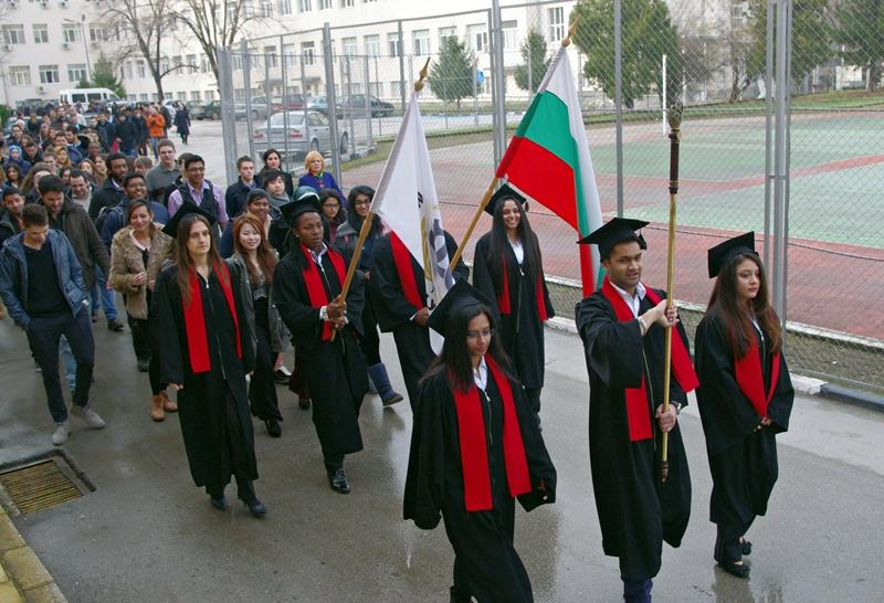 Започна учебната година за чуждестранните студенти в Медицинския университет