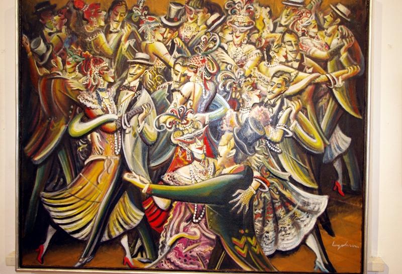 Любен Ангелов чества юбилей със самостоятелна изложба