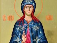 16 юли – Света мъченица Юлия