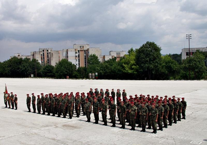 Първият модул новоназначени войници получиха официално удостоверенията си