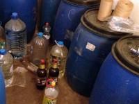 Над 900 литра безакцизен алкохол иззети при спецоперация в Плевенско
