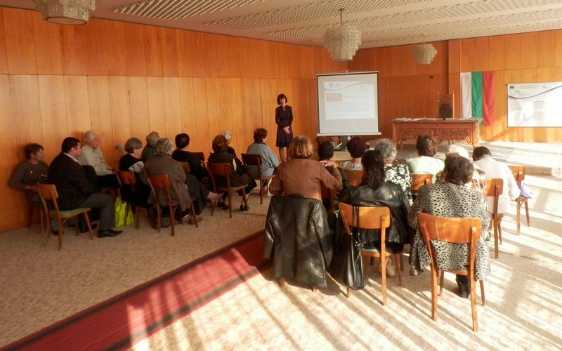 Информационна среща в Крушовица проведе ОИЦ