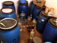 Иззеха 180 литра домашна ракия от 56-годишен в Кнежа