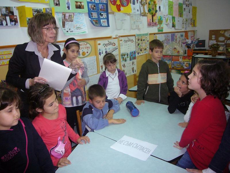 """НУ """"Отец Паисий"""" се включва в инициативата """"19 дни за ненасилие в училище"""""""