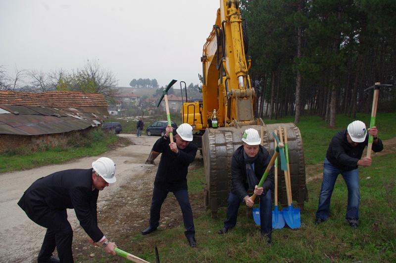 Първа копка на проект за над 24 милиона направиха в Червен бряг