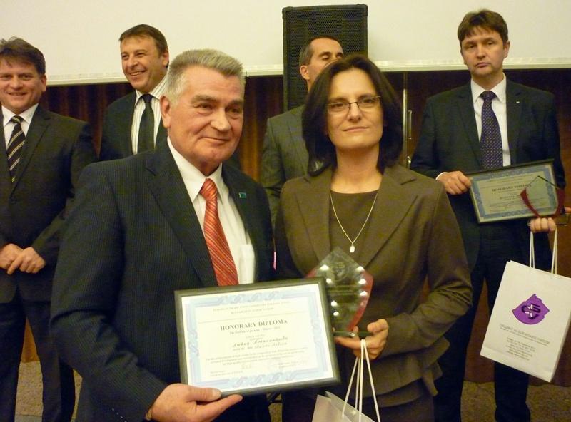 Кметът на Община Левски с награда на СБУ за най-добър социален партньор