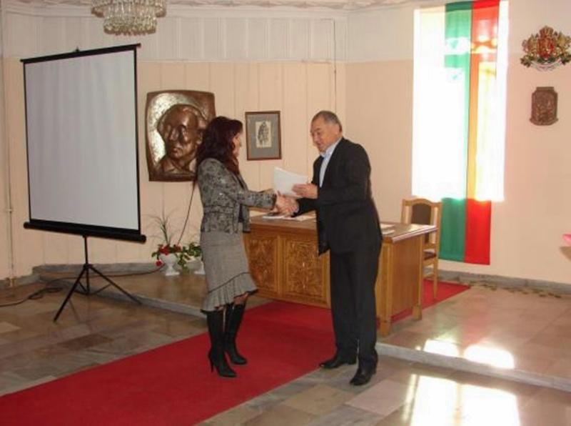 Сертификати, отпечатани на рециклирана хартия, връчиха в Долни Дъбник за успешното приключване на проект