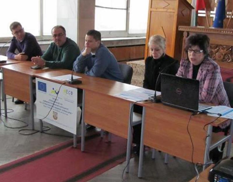 По проект повишават административния капацитет на служителите в Община Червен бряг