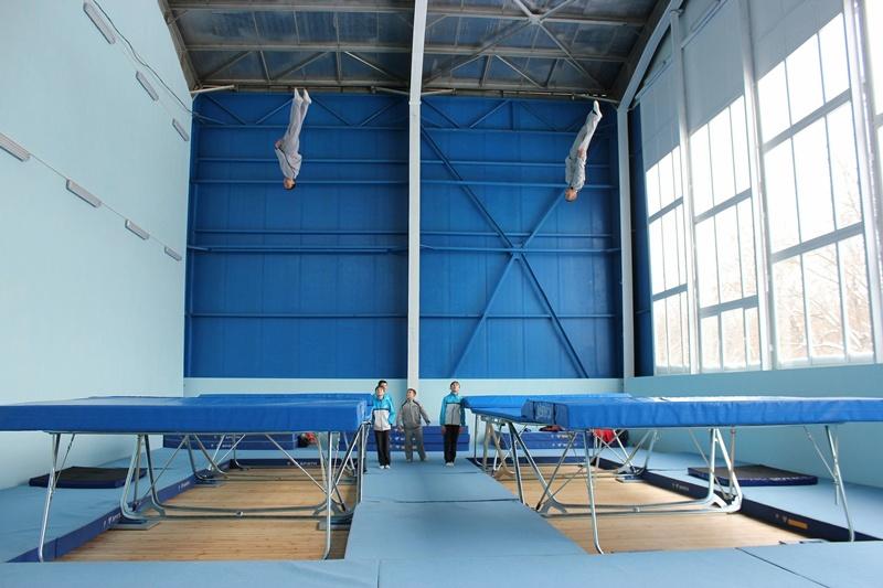Плевен вече е национален център за подготовка по скокове на батут