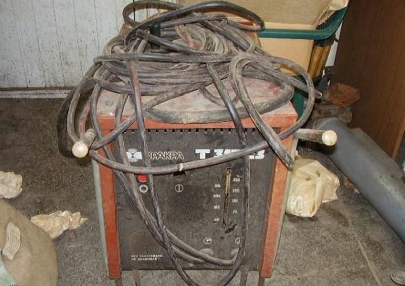 Сгащиха крадец на електрожен-самоделка