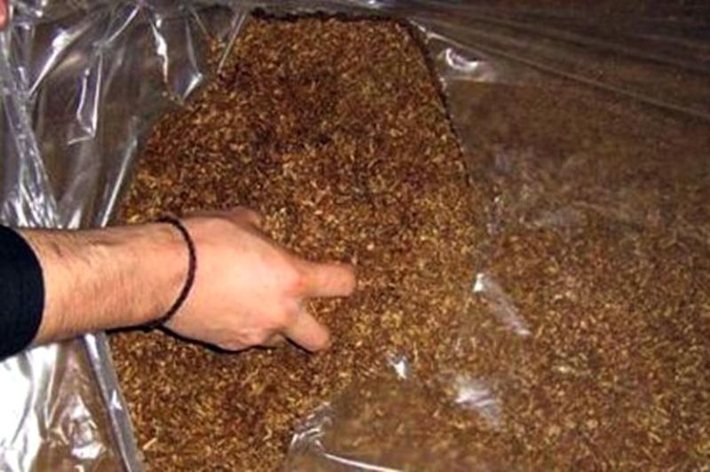 95 кила тютюн иззеха от жител на Буковлък
