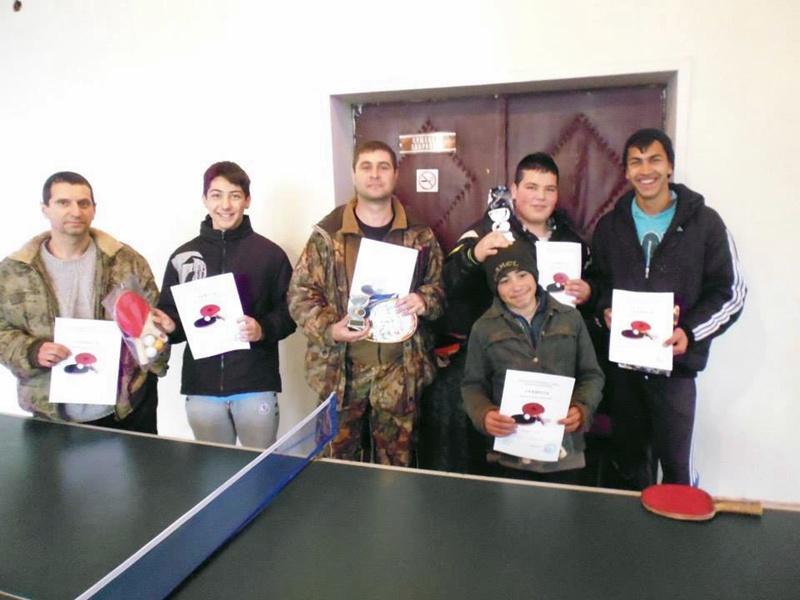 Мартенски турнир по тенис на маса проведоха в Байкал