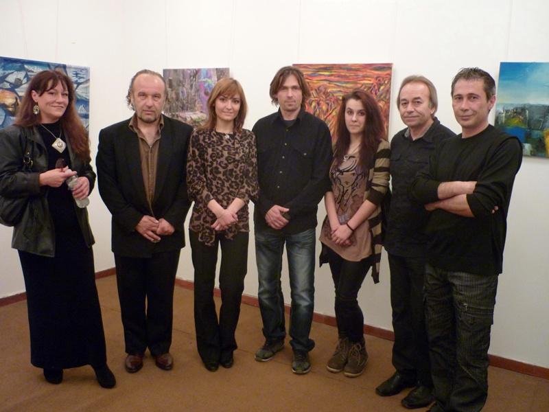 Наши и норвежки художници със съвместна изложба в Левски