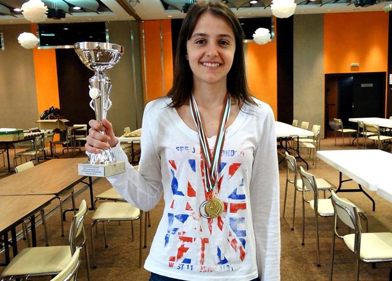 Плевенчанката Симонета Иванова е шампион на България за седми път