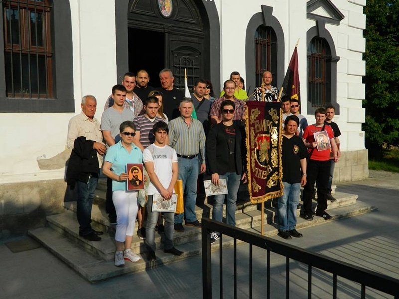 """20 нови членове на ВМРО – Плевен положиха клетва в храм """"Света Троица"""""""