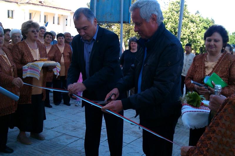 Обновен Клуб на пенсионера в кметство село Бъркач беше открит на 13-ти май