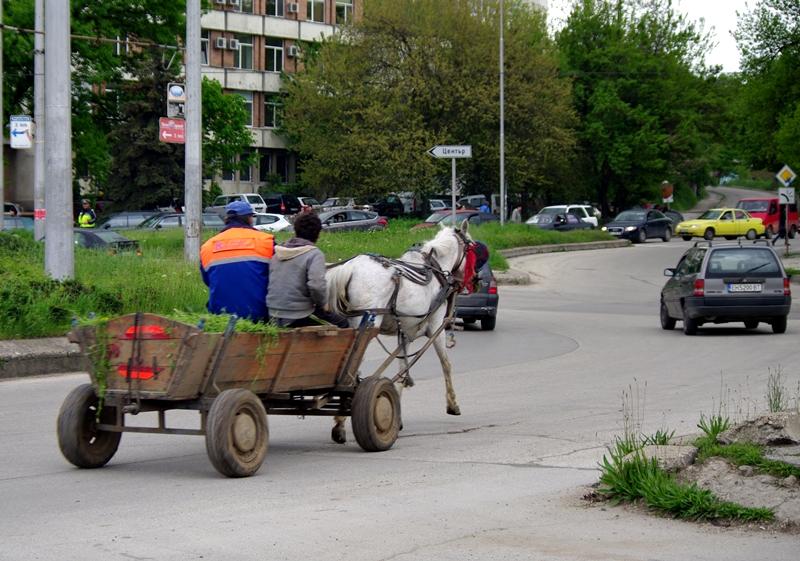 Забраняват движението на каруци в целия град?