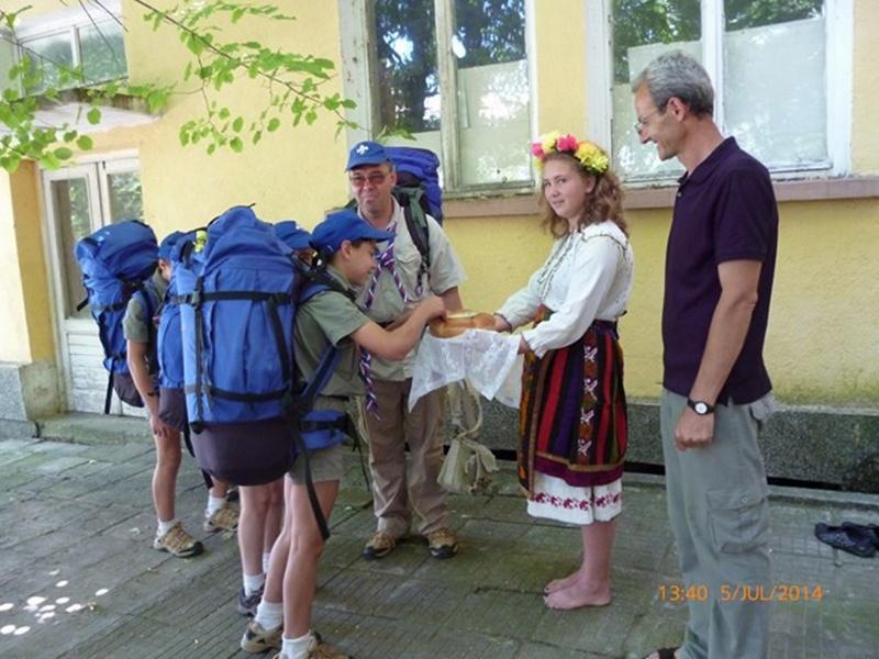 Скаути от Москва проведоха четиридневен лагер в Байкал