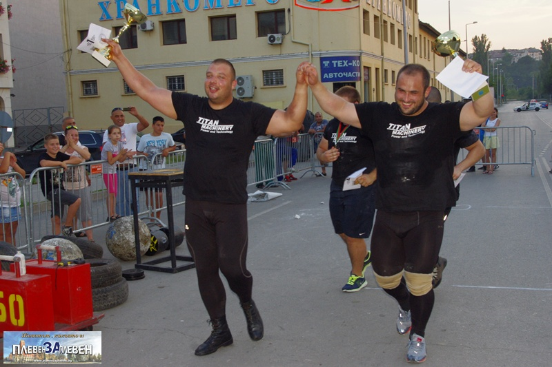 Владимир Ризов триумфира в състезанието по силов многобой в Плевен (галерия)