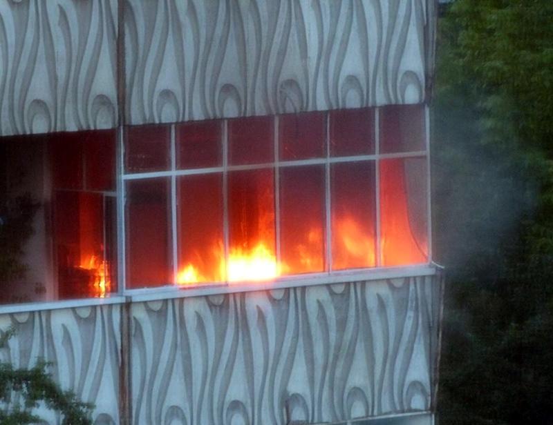 Апартамент горя тази вечер в плевенския квартал «Дружба»
