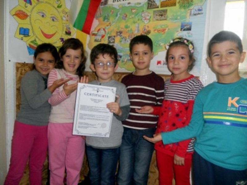 Малък художник от Левски с приз от световен конкурс за детска рисунка