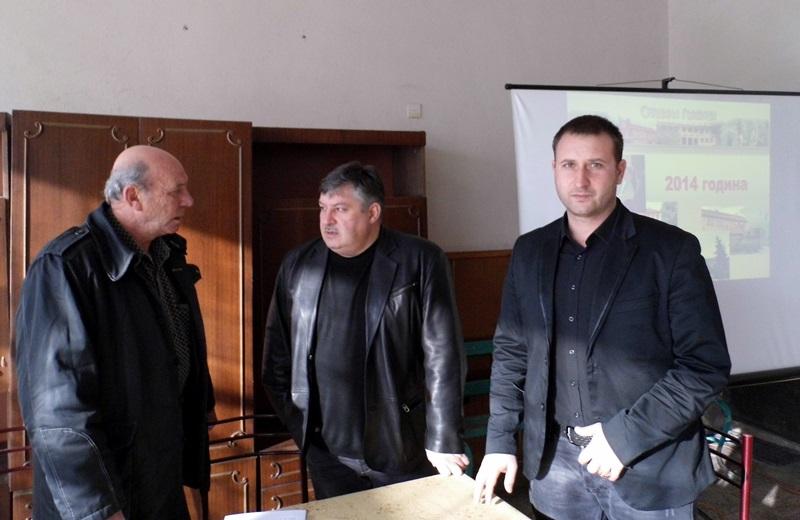 Кметовете в община Гулянци отчитат свършеното през 2014-а