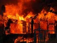 Къща горя в Староселци