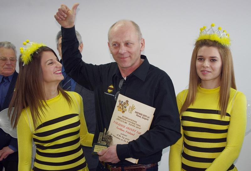 """Награждаване в 12-ото Международно изложение """"Пчеларство Плевен"""""""