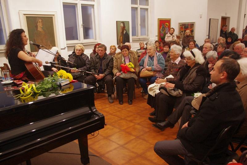 """Концерт на Саня Табакова в ХГ """"Дарение Светлин Русев"""""""