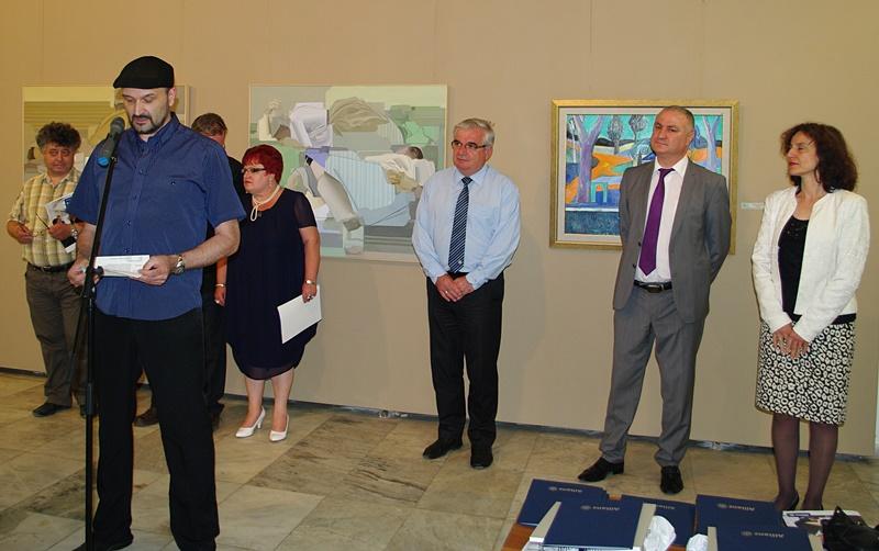 """Отличиха художниците от регионалния етап на конкурса на """"Алианц България"""" – фото-галерия"""