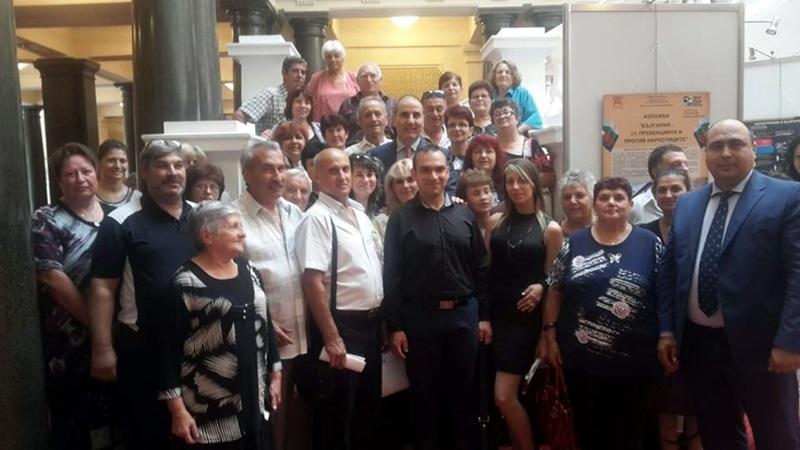 Активисти на ГЕРБ от Ясен посетиха Народното събрание