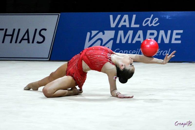 Невяна Владинова с медал в Москва