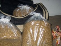 Плевенски полицаи откриха близо 5 кила тютюн до контейнер за смет