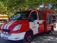 """Опел"" изгоря на улица в Койнаре"