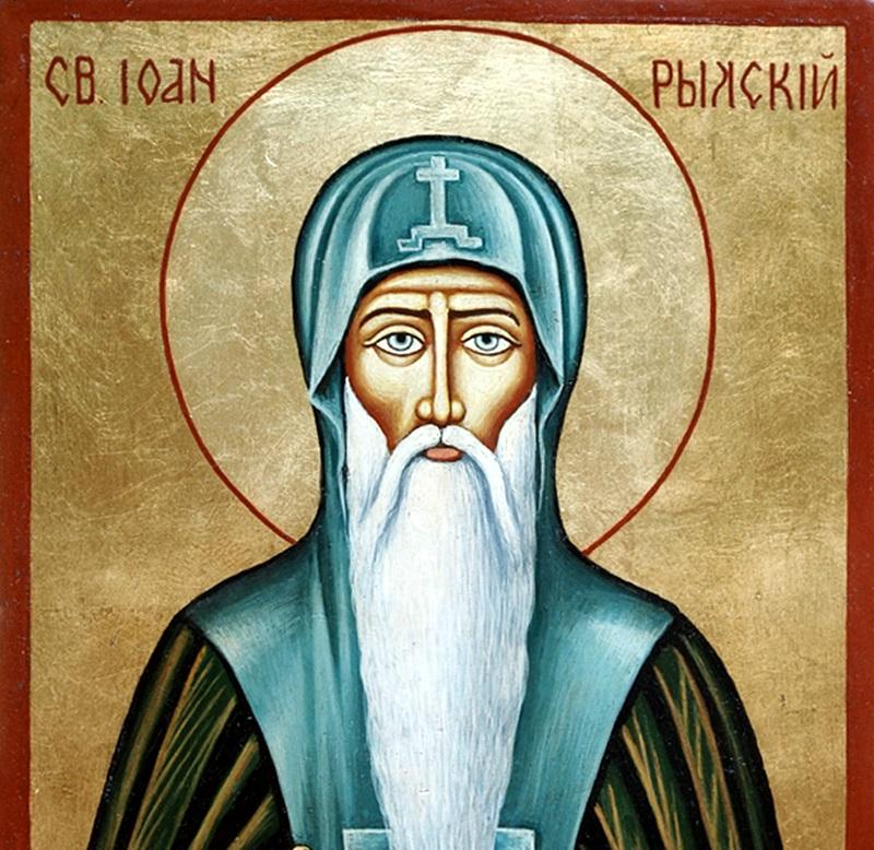 19 октомври – почитаме Св. Иван Рилски