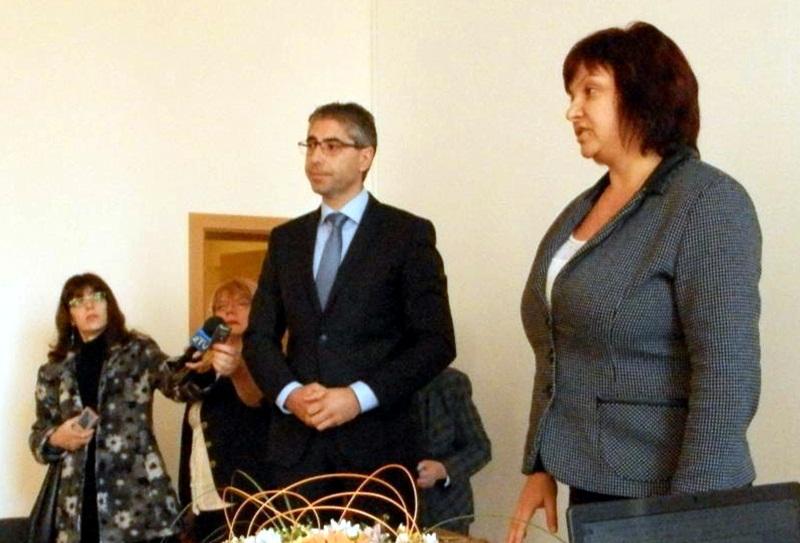 Новият кмет на Кнежа Илийчо Лачовски встъпи официално в длъжност