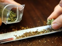 Иззеха марихуана от 18-годишен от Еница