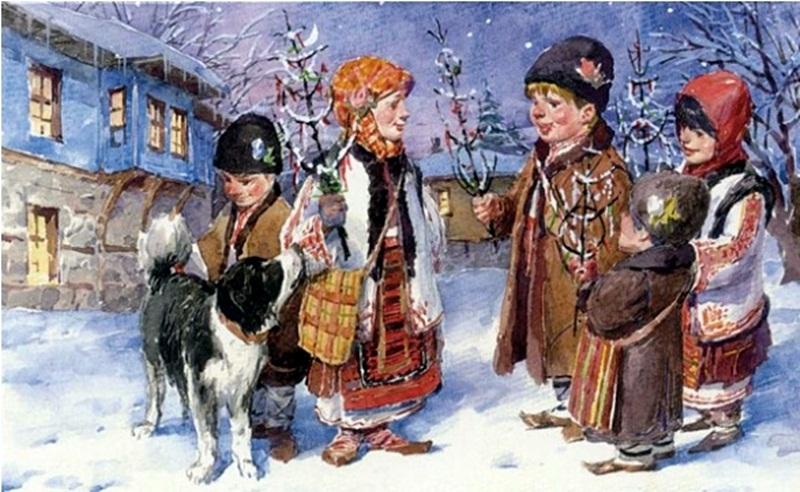 Презентация за Коледните обичаи показват днес в Кнежа