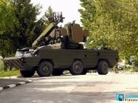 """Зенитно-ракетен комплекс """"Оса"""" и """"Пясъчна котка"""" паркират утре до Военния клуб в Плевен"""