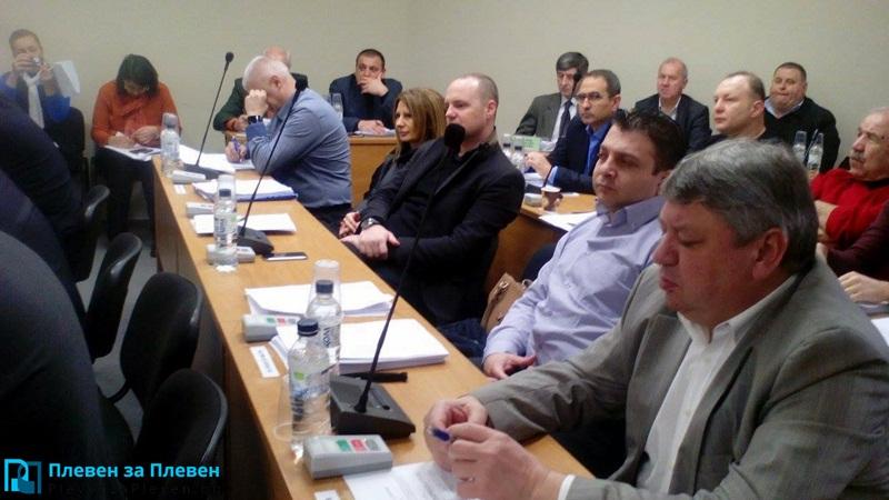Нова година – нова придобивка за общинските съветници в Плевен