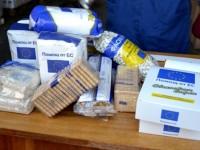 От днес започна раздаването на хранителни пакети от БЧК в селата от община Никопол