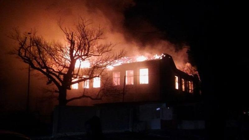 """НУ """"Христо Ботев"""" – Плевен събира средства за изгорялото училище в Карнобат"""