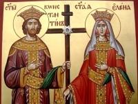 21 май – почитаме свети равноапостоли Константин и царица Елена