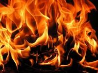 Пожар горя в апартамент в Левски