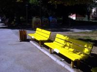 Кметът Спартански: Пейките от Градската градина не се унищожават, а ще бъдат поставени в други части на града