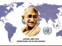 2 октомври – Международен ден на ненасилието