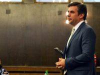 Бивш възпитаник на Езиковата в Плевен и настоящ президент на Американския университет в България гостува в ПГПЧЕ