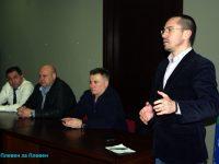 Ангел Джамбазки в Плевен: Целта ни е да запазим резултатите от президентските избори