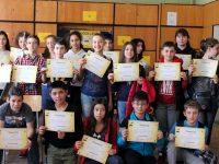 """Полина Атанасова спечели училищния кръг на състезанието """"Spelling Bee"""" в СУ """"Пейо Яворов"""" – Плевен"""