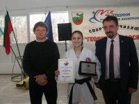 Плевенчанката Ивет Горанова спечели злато от Европейското първенство по карате за юноши и младежи